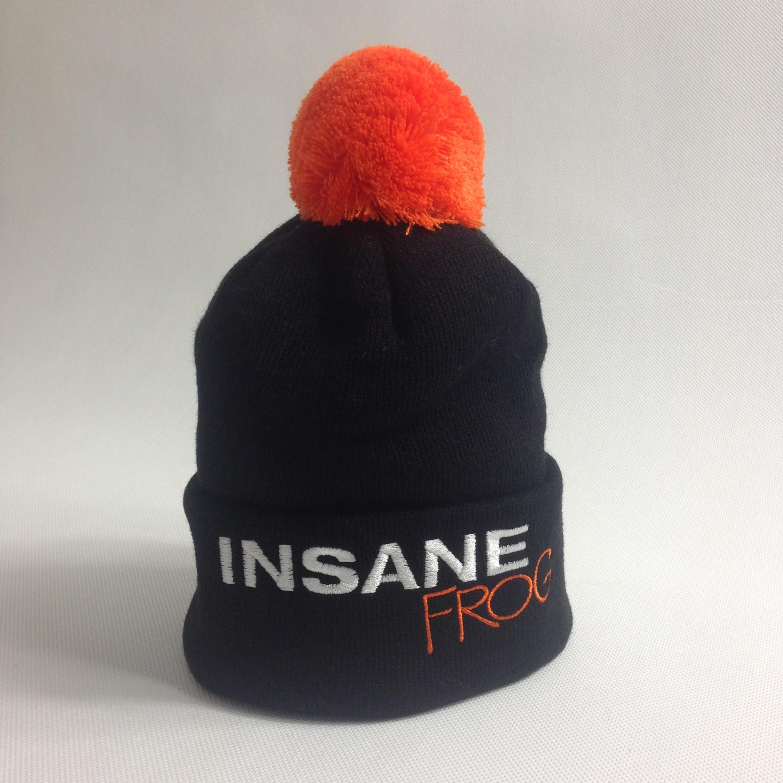 INSANE FROG BEANIE HAT WITH POM POM - Insane 6c0a8da082